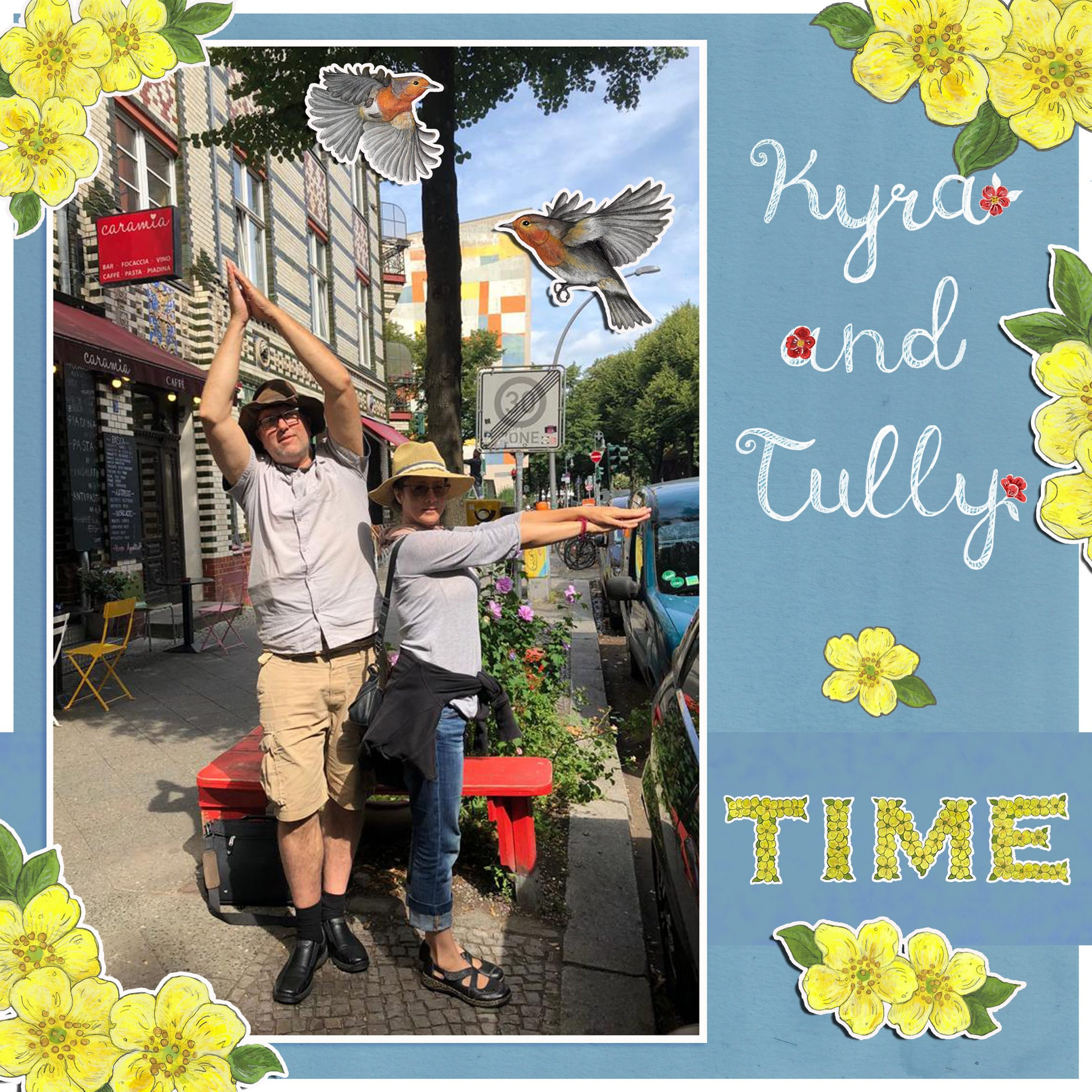 Time, Kyra and Tully